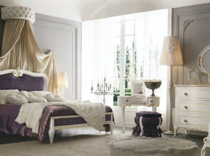 Classic luxury bedroom furniture Live