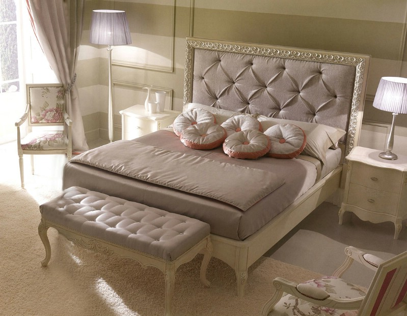 Classic luxury bedroom furniture Rudy 2