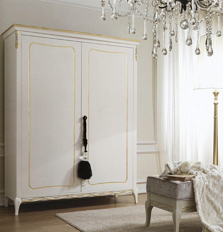 Classic bedroom wardrobe Meteora 1