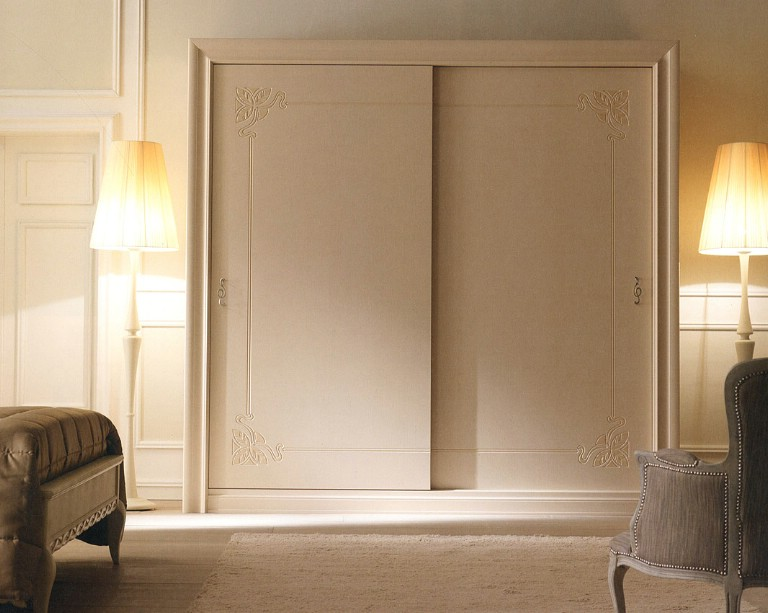 Classic bedroom wardrobe Meteora 3
