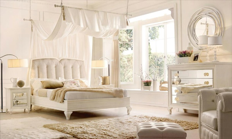 Classic luxury bedroom furniture Agnes 1