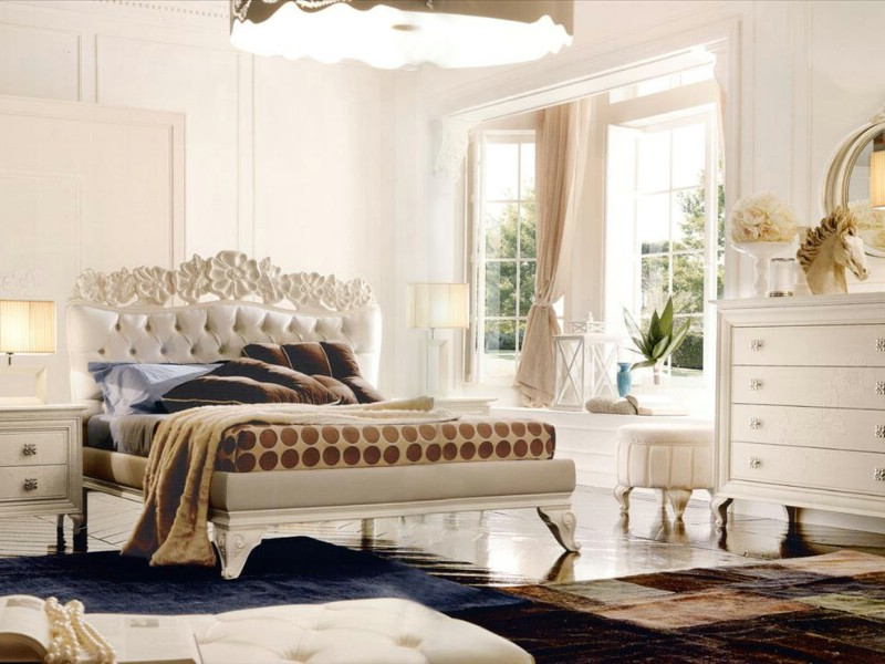 Classic bedroom furniture Amelie White