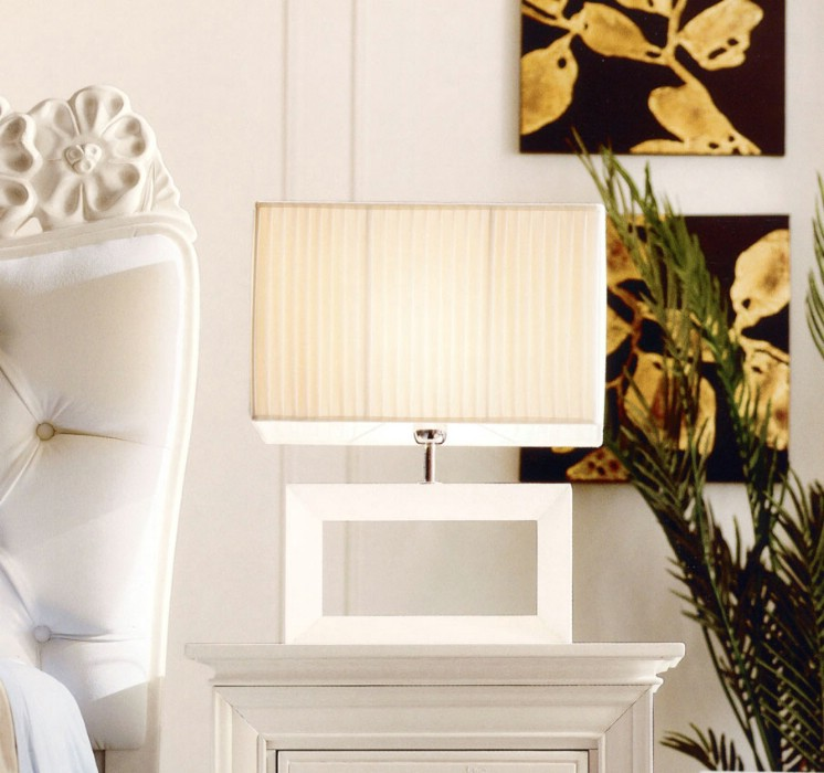 Classic luxury bedroom furniture Amelie White 7