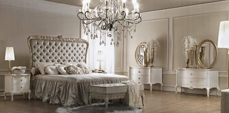 Classic luxury bedroom furniture Artemisia 1