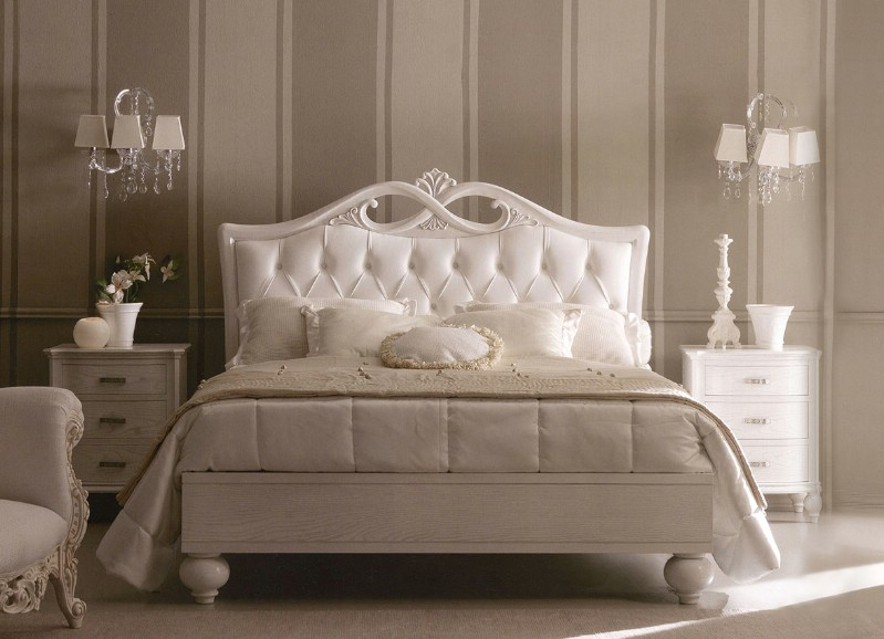 Classic luxury bedroom furniture Via Veneto 2