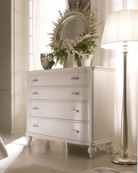 Muebles de dormitorio de lujo clásico Via Veneto 4