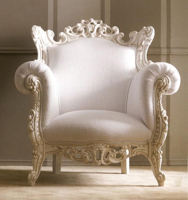 Muebles de dormitorio de lujo clásico Via Veneto 6