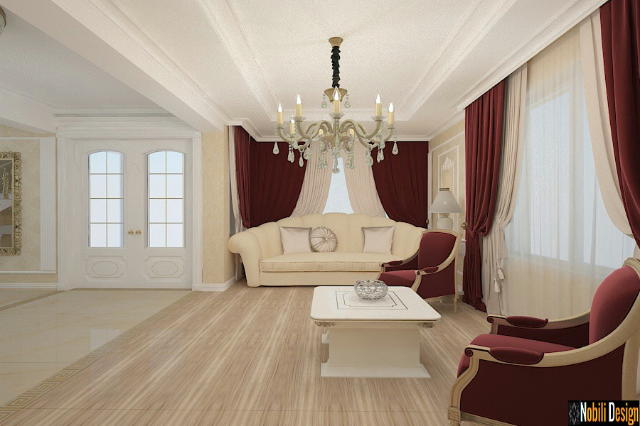 Classic luxury style interior design project for a beautiful home 3