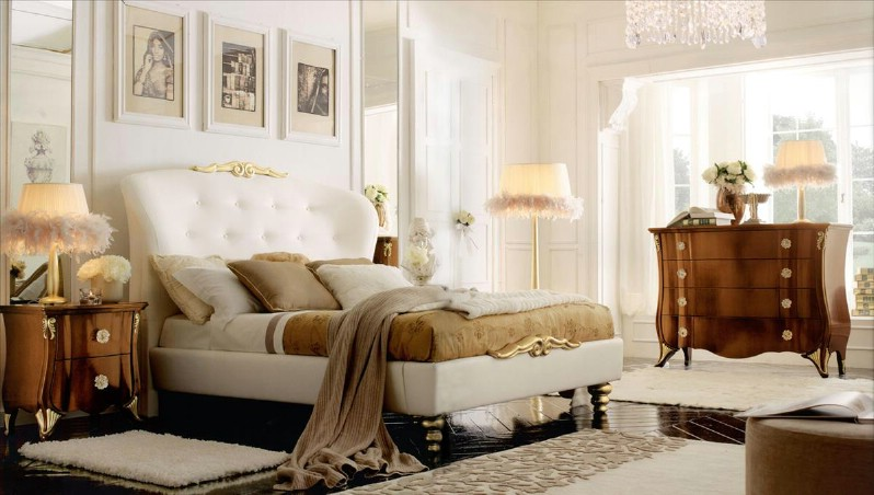 Classic luxury bedroom furniture Chloe 1