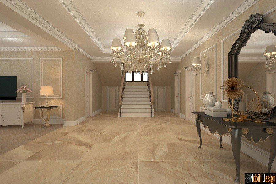 Project for a classic style home in London
