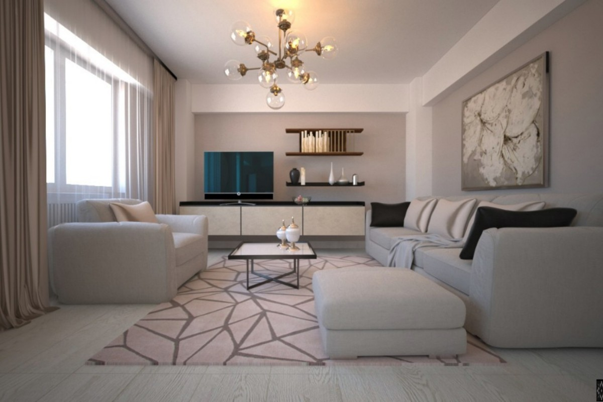 London apartment interior design