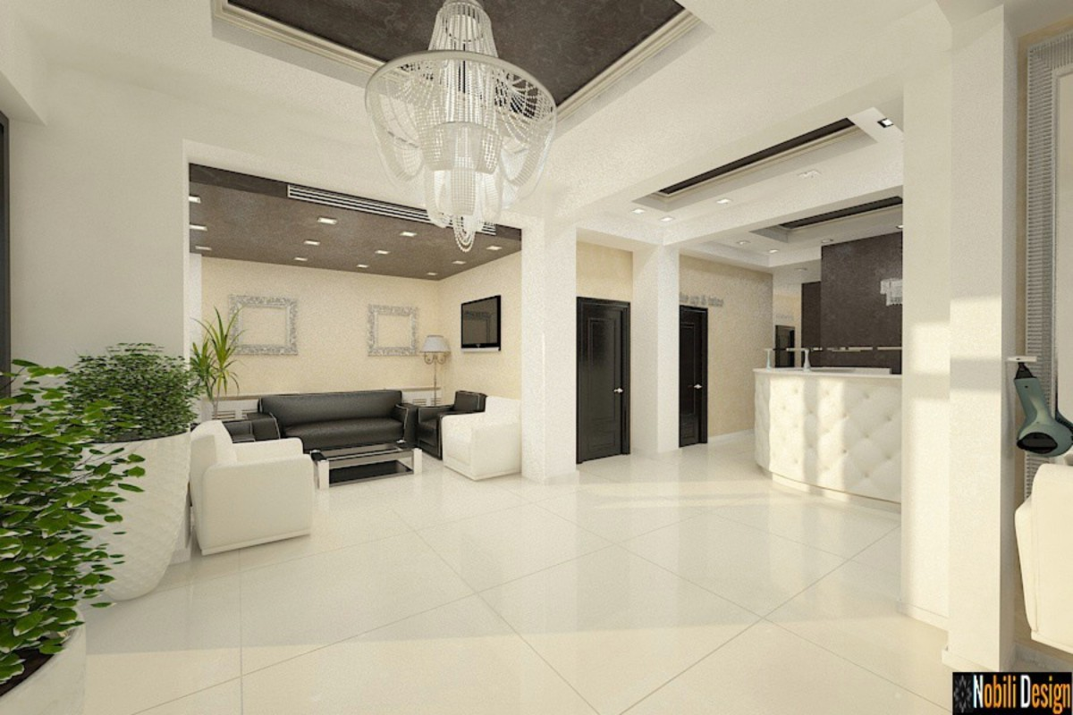 Interior design for beauty salon