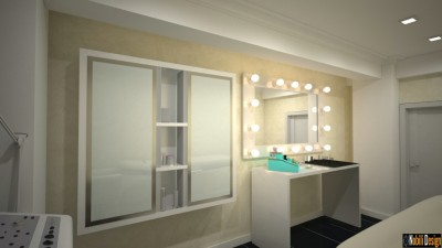 Beauty salon interior project