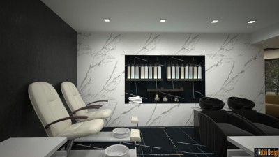 Interior furnishing beauty salon