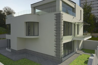 Contemporary Style House in _oras_ - Terraced House Project in _oras_