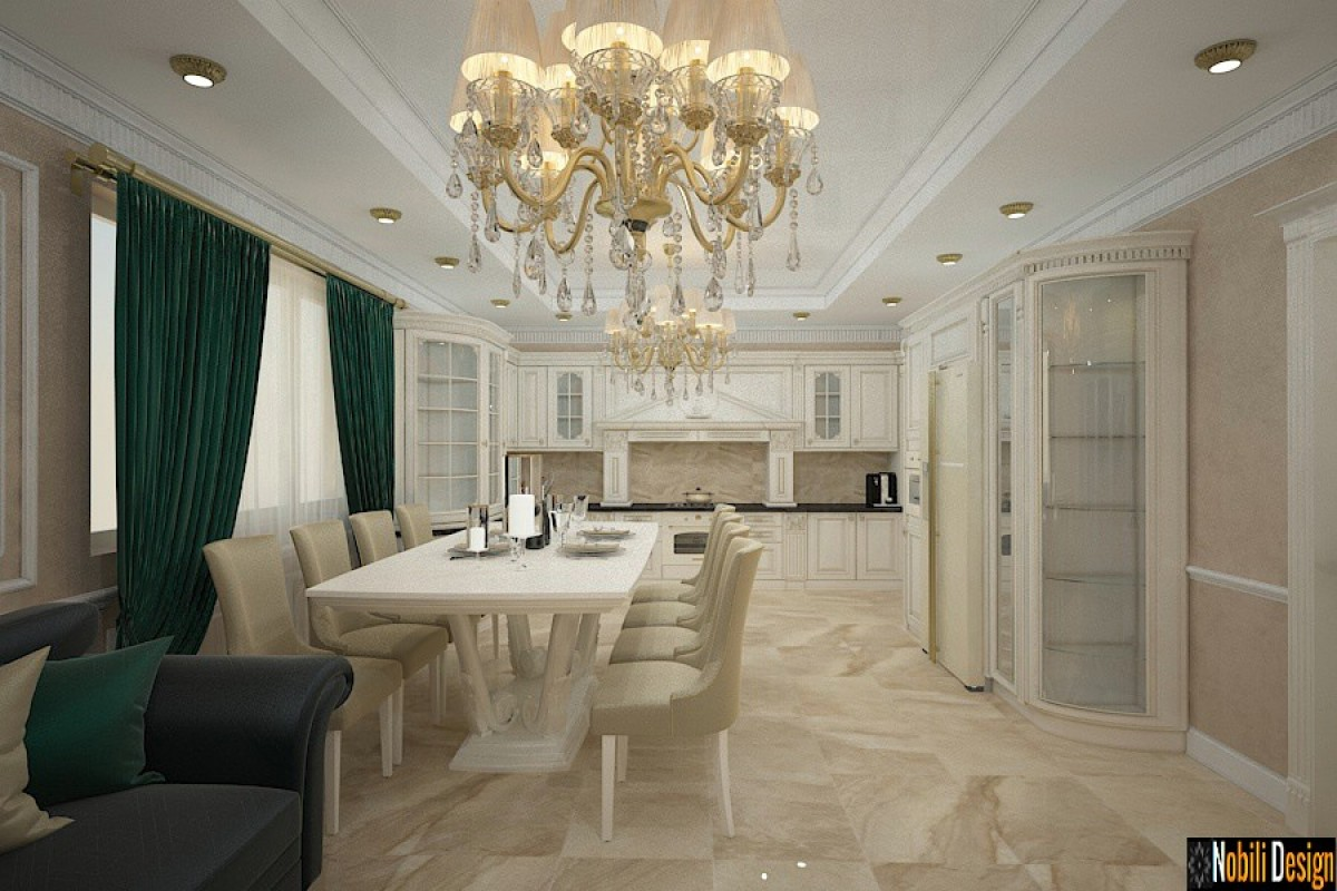 Luxury Classic Villa Yerevan - Residential interior design in Yerevan