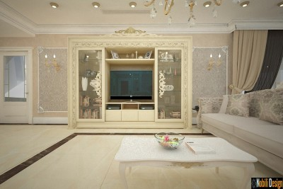 Luxury classic style living room London