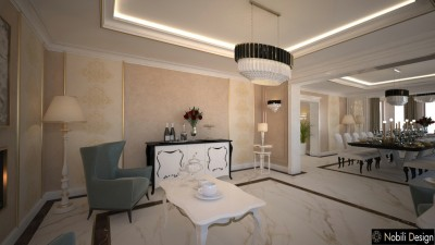 Luxury villa interior design Luxembourg