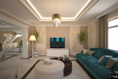 Interior design for a luxury house in Lomé - New Classic Villa