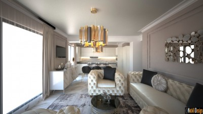 Eclectic Apartment Design in _oras_ - New Classic Interior Home in _oras_