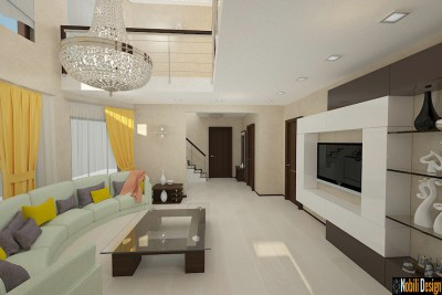 Interior design modern house