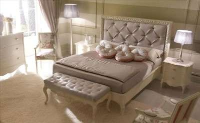 Classic luxury bedroom furniture Rudy - Luxury Italian Upholstered Beds