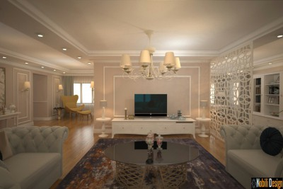 New classic interior design for luxury house