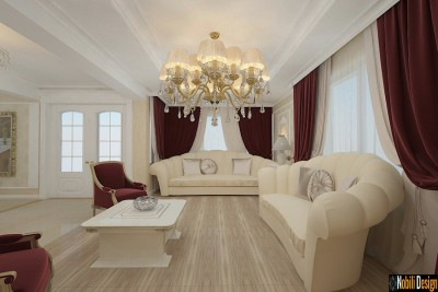 Interior design classic luxury home rome Italy