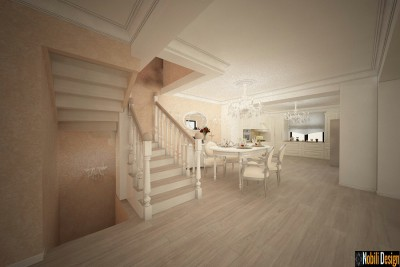 Interior design project for a classic house - Residential Interior Design