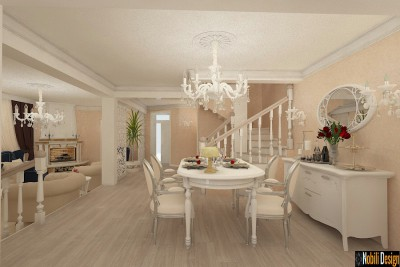 Classic interior design house project