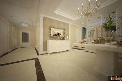 Luxury classic interior design apartment project