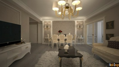 Classic interior design apartment project