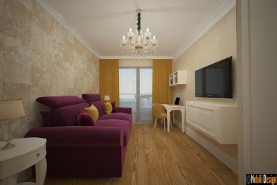 Interior classic house project in Monaco