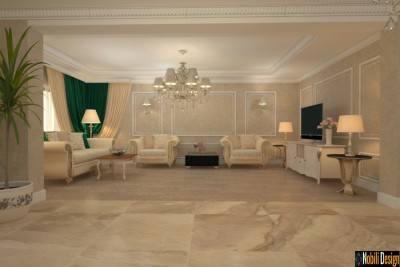Project for a classic style home in Monaco