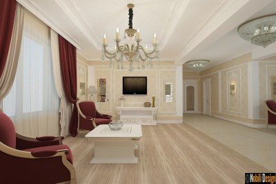 Classic style interior design project for a home in Monaco