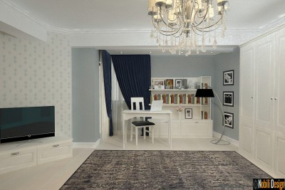 Interior design for a modern apartment in Monaco