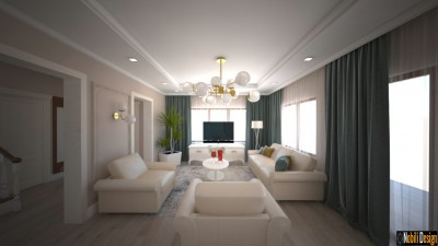 Charming classic house interior design concept