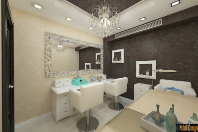 Interior design beauty salon in Monaco
