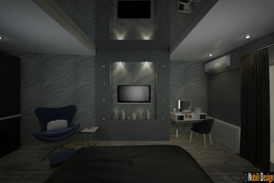 Interior design concept for a modern apartment in Marseille