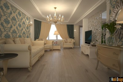 Classic style house interior design in Athens Greece
