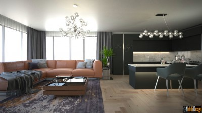 Modern house interior design concept in Manchester