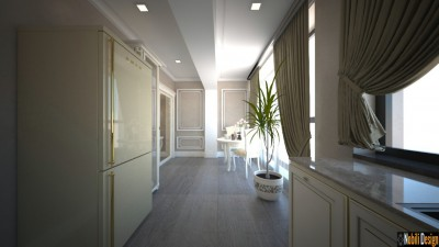 Classic interior design apartment project in Manchester