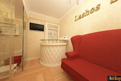 Beauty salon interior design project in Manchester