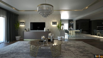 Interior design project for a modern house in Liverpool