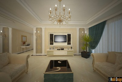 Classic interior design apartment project in Liverpool