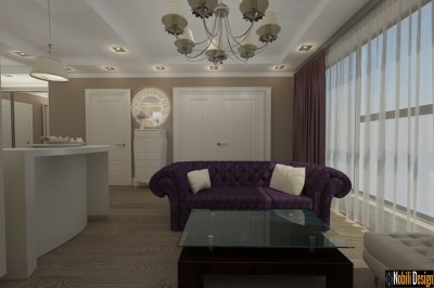 Interior concept for a classic apartment in Liverpool