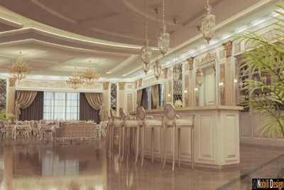 Interior design for a luxury restaurant in Liverpool