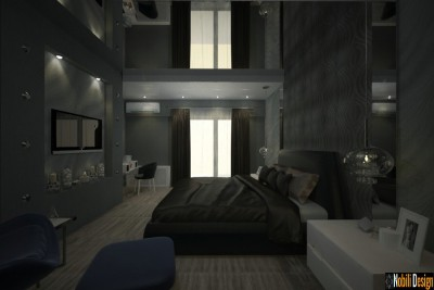 Interior design for a modern apartment in Birmingham