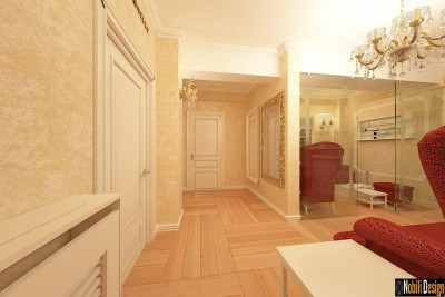Beauty salon interior design project in Birmingham
