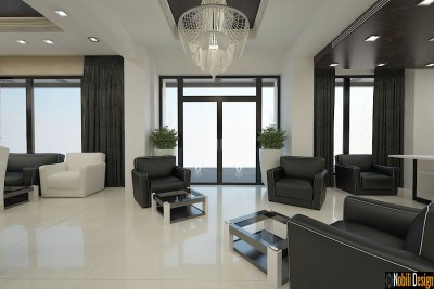 Interior design beauty salon project in Birmingham